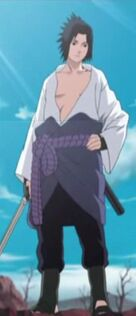 Sasuke en la Segunda parte