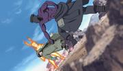 Shino pelea con Torune