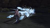 Liberação de Água - Técnica dos Projéteis Dispersados (Gengetsu - Game)