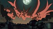 O ataque da Kyubi