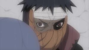 Obito revela su ojo izquierdo
