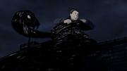 Shikamaru é pego por Sai