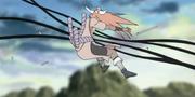 Tayuya atravesada por Shikamaru