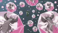 Insetos de Shino aprisionados