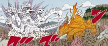 Jutsu Ocho Ramificaciones Manga Color
