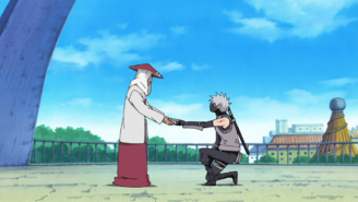 Kakashi leaves the Anbu