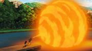Liberação de Fogo - Técnica da Grande Bola de Fogo (Fugaku Uchiha)