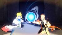 Rasengan Pai e Filho (Minato e Naruto - Game)