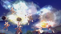 Arte Sábia Super Rasenshuriken das Bestas com Cauda (Naruto - Game)