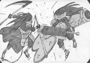 Hashirama vs Madara bukijutsu