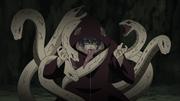 Kabuto confrota os irmãos