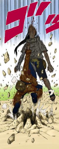 Naruto derrota Neji (Mangá)