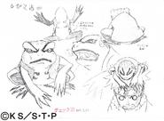 Arte Pierrot - Gamakichi