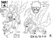 Arte Pierrot - Naruto Versão 1