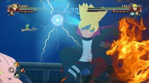 BORUTO UZUMAKI, Master of All Elements! New NARUTO Storm 4 Road to Boruto Moveset Gameplay