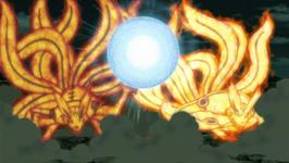Forme Bijû de Minato et Naruto