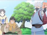 Konoha Shinden: Pergaminhos Ninjas das Fontes Termais (arco)