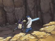 Orochimaru killing fourth kazekage