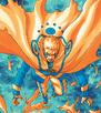 Primer Modo Kurama combinado con el Modo Sabio de los Seis Caminos en Boruto Naruto Next Generations
