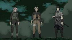 Sakura, naruto e sasuke riuniti