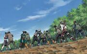 Division Kakashi llega a ayudar