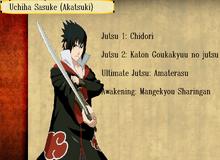 Jutsus de Sasuke Uchiha Akatsuki