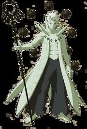 Obito Jinchūriki (Render)