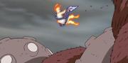 Naruto logra sacar el Receptor Negro que tenía Son Gokū