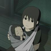Infant Sasuke and Itachi