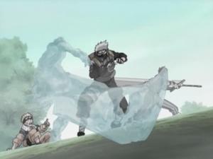 Jutsu Clon de Agua Anime