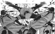 Kakashi protege Sakura