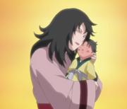 Kurenai i dziecko