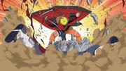 Naruto détruisant Shuradô