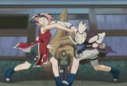 Sakura vs Ino 12