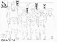 Screenshot=Jirobo, Tayuya, Kidomaru, Sakon2