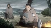 Shikamaru vendo a única informação sobre Gengo
