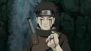 Shisui le entrega su Ojo a Itachi para proteger a Konoha