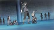 Shizuma es cortado por Kagura