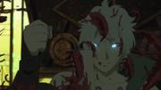 Un celoso Toneri destruye la bufanda de Hinata