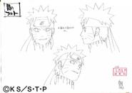 Arte Pierrot - Naruto Sombrio