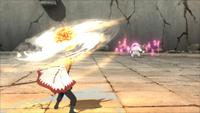 Arte Sábia Rasenshuriken de Liberação de Lava (Naruto - Game)