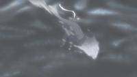 Cintilação Corporal na Água (Kisame - Anime)