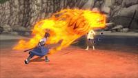 Liberação de Fogo - Técnica do Grande Dragão de Fogo (Game)