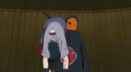 Madara e Sasuke vs Kages