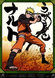 Naruto Shippūden Calendario 2013 Noviembre-Diciembre