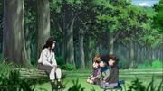Neji, Moegi, Konohamaru e Udon