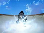 Sasuke usa seu Chidori