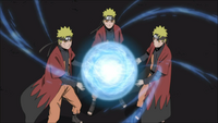 Arte Sábia - Grande Bola Rasengan (Naruto-Filme)