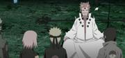 Hagoromo les dice al Equipo Kakashi cómo los pudo traer de vuelta
