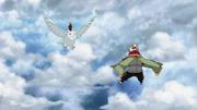 Onoki vs Deidara